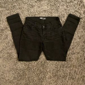 Like new! petite black jeans